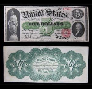 1862 Greenback issue